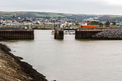 Burry Hafen-Hafen Stockbilder
