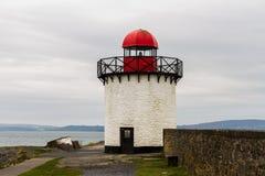 Burry Hafen-Leuchtturm lizenzfreie stockfotografie