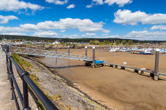 Burry Port Carmarthenshire Royalty Free Stock Images