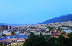 Bursa City. General view of Bursa City in Turkey Stock Photos