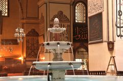 Bursa Grand Mosque fountain in Stock Photography