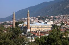 Bursa Grand Mosque or Ulu Cami. Is the largest mosque in Bursa, Turkey Royalty Free Stock Image