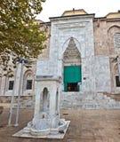 Bursa-großartige Moschee Stockfotografie