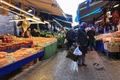 Bursa jedzenia plenerowy rynek Zdjęcia Royalty Free