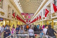 Bursa Kapalicarsi, Turkey. Bursa, Turkey - May 17, 2016: Old Grand Bazaar, covered shopping complex built in Ottoman Empire period in Bursa, Turkey`s 4th largest Stock Image