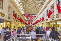 Bursa Kapalicarsi, Turquia Imagem de Stock