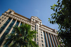 Bursa Malaysia byggnad arkivfoton