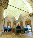 Bursa Orhan Gazi mausoleum Royalty Free Stock Images