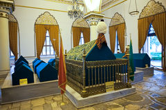 Bursa Orhan Gazi mausoleum Royalty Free Stock Photography