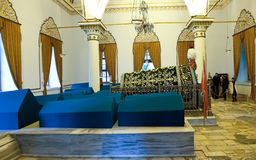 Bursa Orhan Gazi mausoleum Stock Image