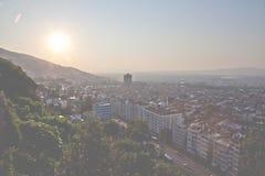 Bursa panorama stock image