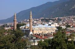 Bursa storslagen moské eller Ulu Cami Royaltyfri Bild