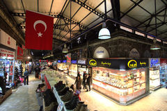 Bursa Grand Bazaar Stock Photo
