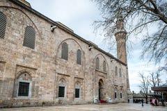 Bursa Uroczysty meczet Cami lub Ulu jesteśmy meczetem w Bursa, Turcja Obrazy Royalty Free