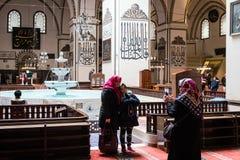 Bursa Uroczysty meczet Cami lub Ulu jesteśmy meczetem w Bursa, Turcja Zdjęcia Royalty Free