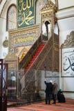 Bursa Uroczysty meczet Cami lub Ulu jesteśmy meczetem w Bursa, Turcja Fotografia Royalty Free