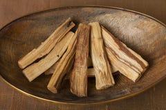 Bursera graveolens, known in Spanish as Palo Santo `holy wood` stock photos