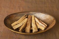 Bursera graveolens, known in Spanish as Palo Santo `holy wood` royalty free stock photo