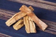 Bursera graveolens, known in Spanish as Palo Santo `holy wood` royalty free stock photos