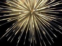 Burst. Fireworks Stock Photography