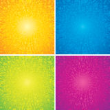 Burst Abstract Backgrounds Stock Image