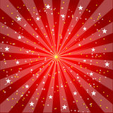 Burst And Stars Background (VECTOR) Royalty Free Stock Images