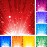 Burst Background Stock Image