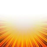 Burst caldo pieno di sole illustrazione vettoriale