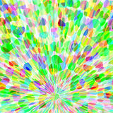 Burst of color. Cheerful spray of colorful explosion burst background Stock Image