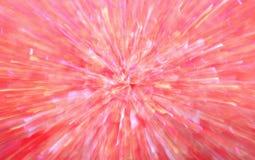Burst del colore rosa Immagine Stock