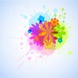 Burst del fiore Illustrazione di Stock