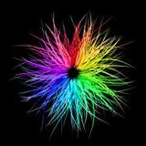 Burst del Rainbow illustrazione di stock