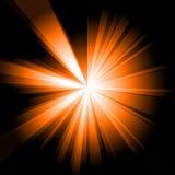 Burst dell'arancio illustrazione di stock