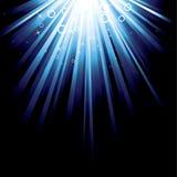 Burst dell'azzurro Fotografie Stock Libere da Diritti
