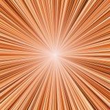 Burst dell'indicatore luminoso arancione royalty illustrazione gratis
