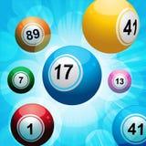 Burst della sfera di Bingo royalty illustrazione gratis