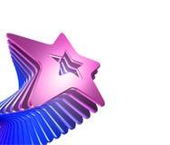 Burst della stella Immagine Stock Libera da Diritti