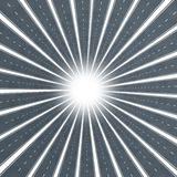 Burst della stella della strada illustrazione di stock