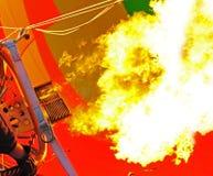 Burst delle fiamme immagini stock