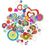 Burst di amore illustrazione di stock