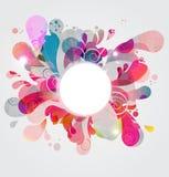 Burst di colore astratto Immagine Stock Libera da Diritti