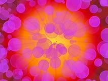 Burst di colore rosa illustrazione vettoriale