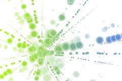 Burst di energia di colore Fotografia Stock Libera da Diritti