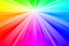 Burst di spettro illustrazione di stock