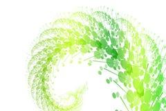 Burst di verde della natura illustrazione di stock
