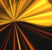 Burst dorato illustrazione di stock