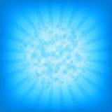 Burst explosion background Stock Image