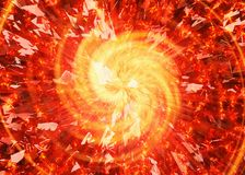 Burst flash of broken star backgrounds. Burst flash of broken star background Royalty Free Stock Photos