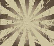 Burst with grunge. Image of a burst with grunge royalty free illustration