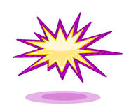Burst icon Royalty Free Stock Image